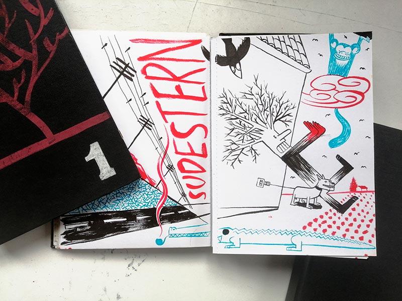 cuadernos seisdedos